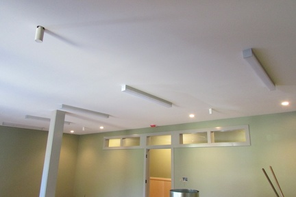 Lighting in the library