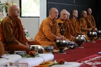Guest and resident monks in attendance