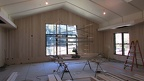 Reception Hall with maple paneling