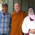 Ajahn Sudanto and guests