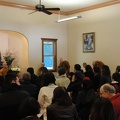 A packed Dhamma hall