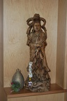 Quan Yin statue that used to be in Tan Pesalo's family house