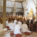 Assembly in the Dhamma Hall