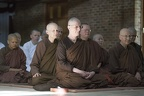 Ajahn Sundara and Ajahn Candasiri with Sīladharā