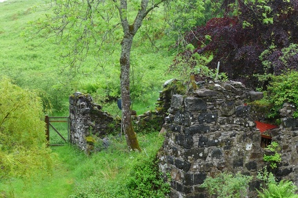 One of the old mills where the hermitage gets it's name