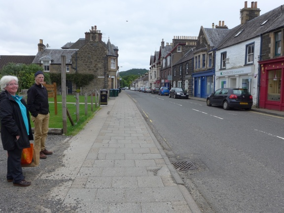 Comrie is a lovely little village with lots of shops