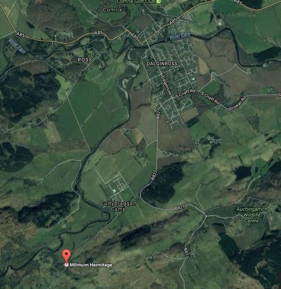 Milntuim is walkig distance from the town of Comrie
