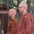 Listening to the Dhamma talk