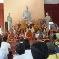 Dec. 6th morning - Ajahn Pasanno and Ajahn Amaro are honored for their new Jao Khun titles at Wat Ampherwan by the Sangha headed by Ajahns Jundee and Nyanadhammo (วัดป่าอัมพวัน - http://www.wpp-branches.net/th/branches_details.php?con_language=th&p=1&con_