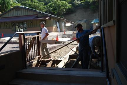 Removing walkway boards