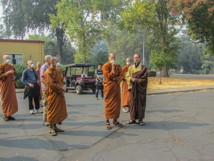 Welcomed at the City of Ten Thousand Buddhas