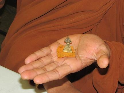 Pocket size Buddha