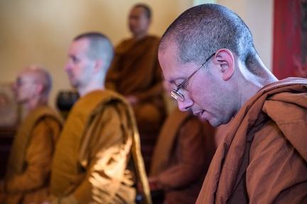 Abhayagiri monks