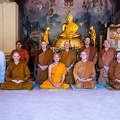 Group photo with Ajahn Maha Prasert.