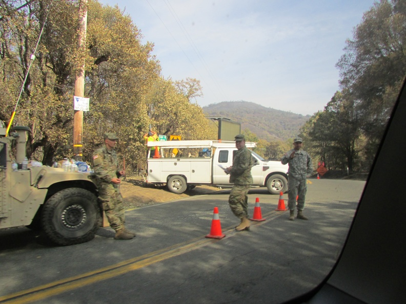National Guard on Tomki Road