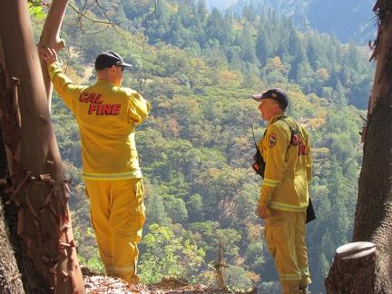 Cal Fire doing an excellent job restoring the land