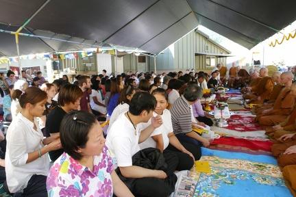 122) Layity at Kathina Ceremony