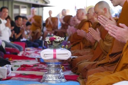 123) Kathina Ceremony