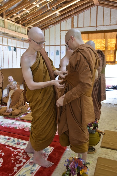 12 Putting on the Bhikkhu Robes