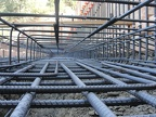 V6 Ground level shot of rebar