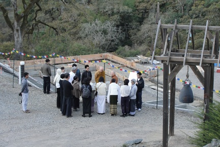 M 1 Showing site to Thai guests