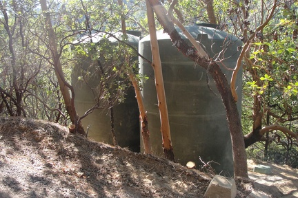N2 Water tanks for fire supression