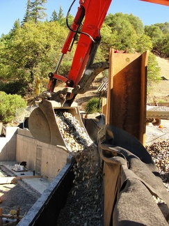 P2 Back filling retaining wall