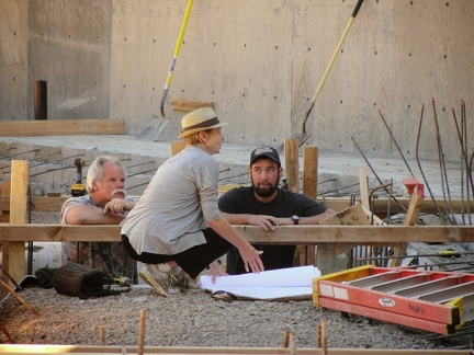 P10 Architenct on site