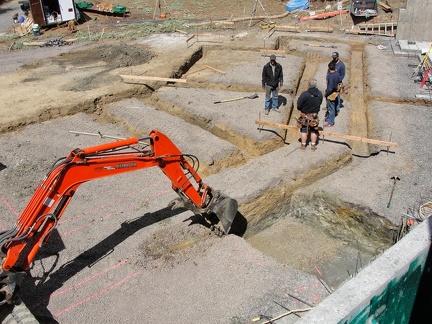 Q3 digging footings