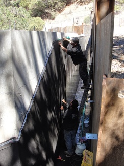 Q9 waterproofing retaining wall