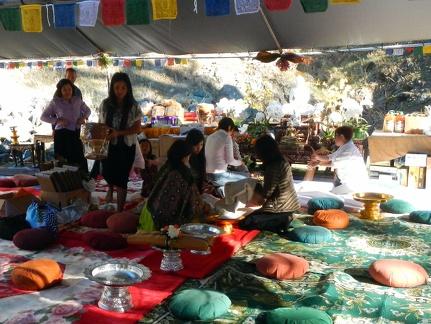 3) Preparing Offering Tables