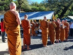 17) Monks in line for Almsround