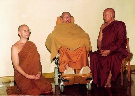 004) LP Pasanno with LPChah & LP Pannyavaddo