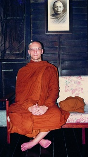 004a) A younger LP Pasanno with Aj Chah photo