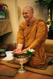 011f) LP Pasanno Water blessing Songkran Day