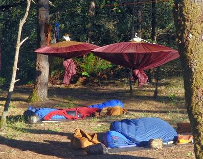 014) A Tudong Sleeping Site