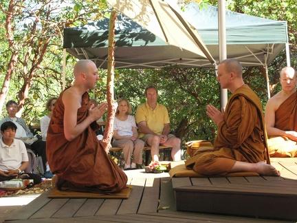 023) Samanero Sudhiro's Bhikkhu Ordination