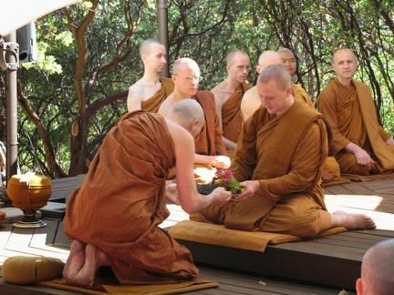 023a) Samanera Sudhiro's Bhikkhu Ordination