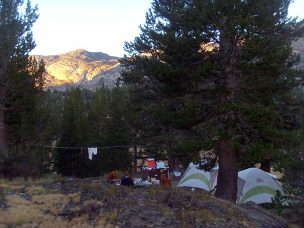 093) Saddlebag Lake Campgrounds