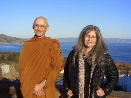 107) Aj. Karunadhammo & his sister Gail