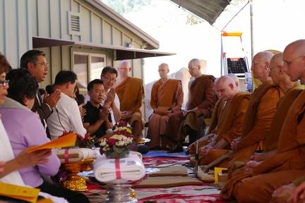 121) Kathina Ceremony