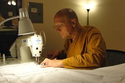 124) LP Pasanno Sewing Kathina Robe