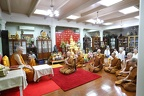 Luang Por Pays Respects to the Sangharaja of Thailand