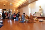 Meditation Hall during Songkran Ceremony