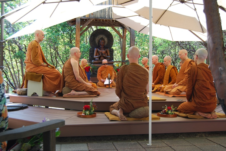 At the edge of the Sangha
