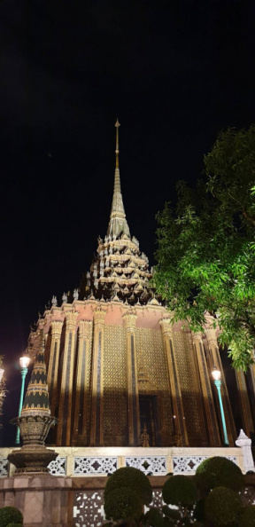 Wat Phra Kaew, the Temple of the Emerald Buddha, in Bangkok