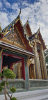 Wat Ratchabopit in Bangkok. The residence of the current Supreme Patriarch of Thailand, Somdet Phra MahaMuniwong